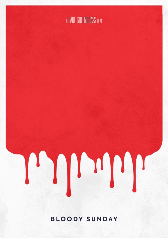 Bloody Sunday Minimalist-Movie-Poster-Print