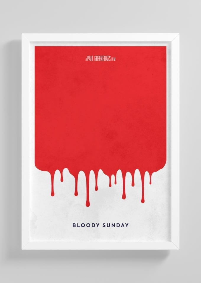 Bloody-Sunday-Minimalist-Movie-Poster-with-Frame