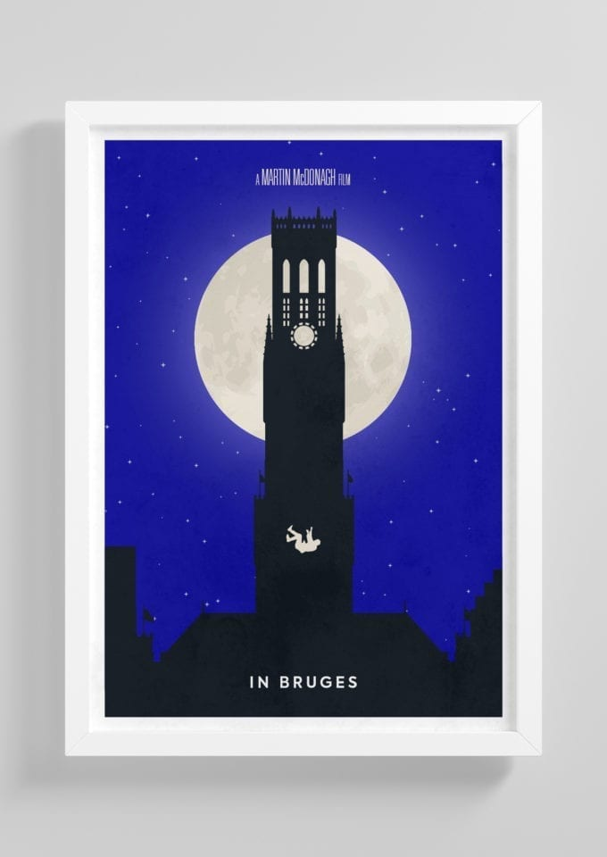 In-Bruges-Minimalist-Movie-Poster-with-Frame