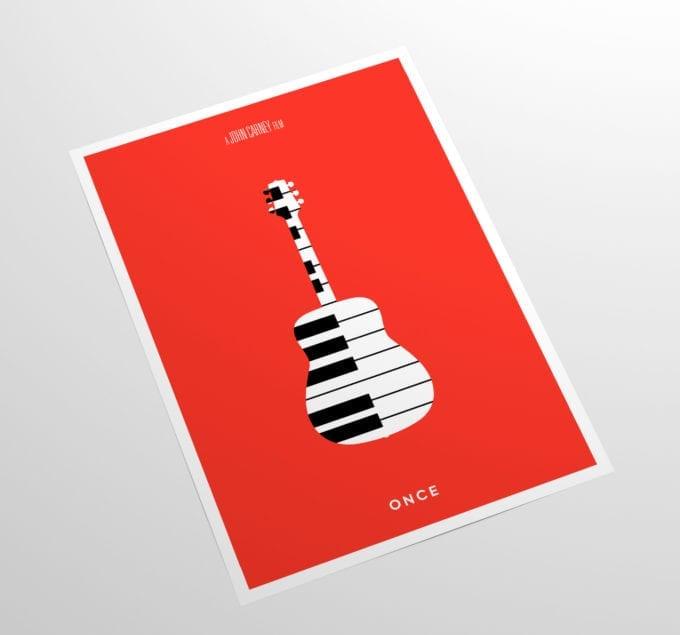 Once-Minimalist-Movie-Poster-Print