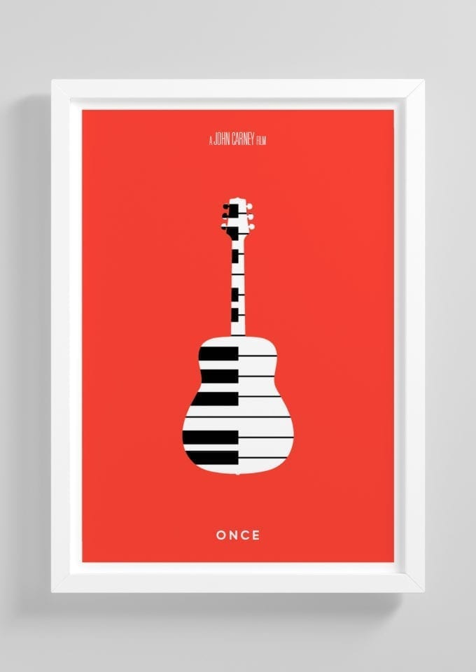 Once-Minimalist-Movie-Poster-with-Frame
