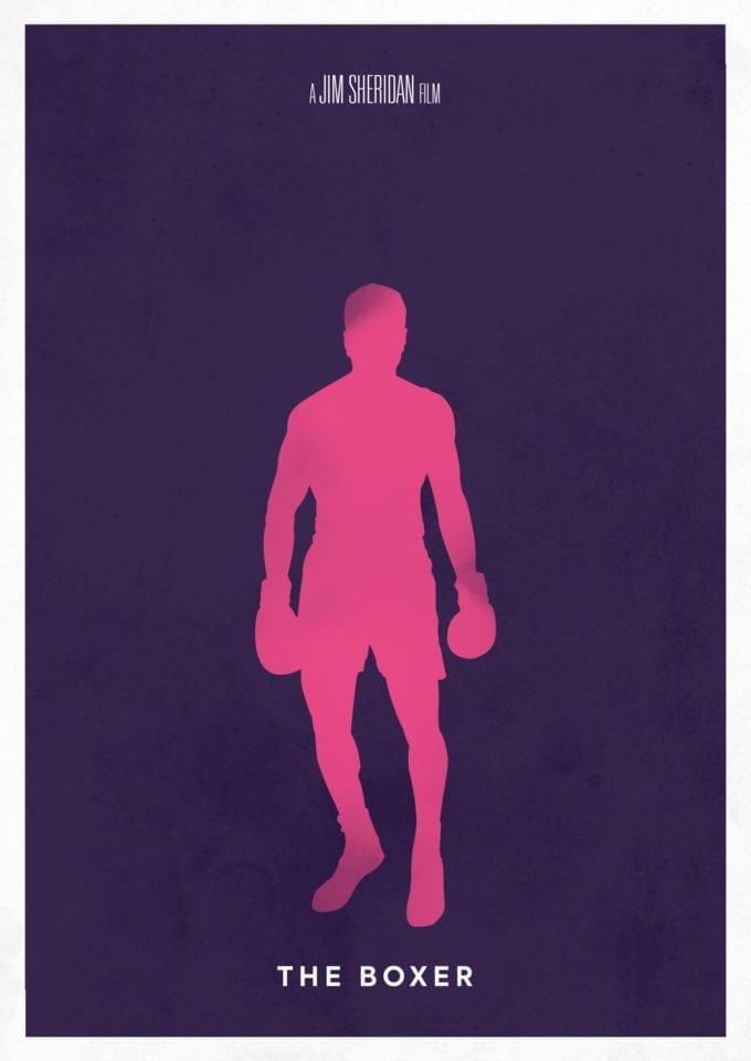 The Boxer Minimalist Poster Print