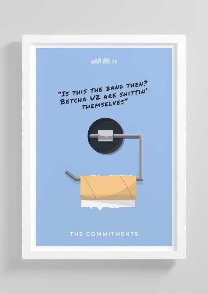 The Committments Minimalist Poster Print
