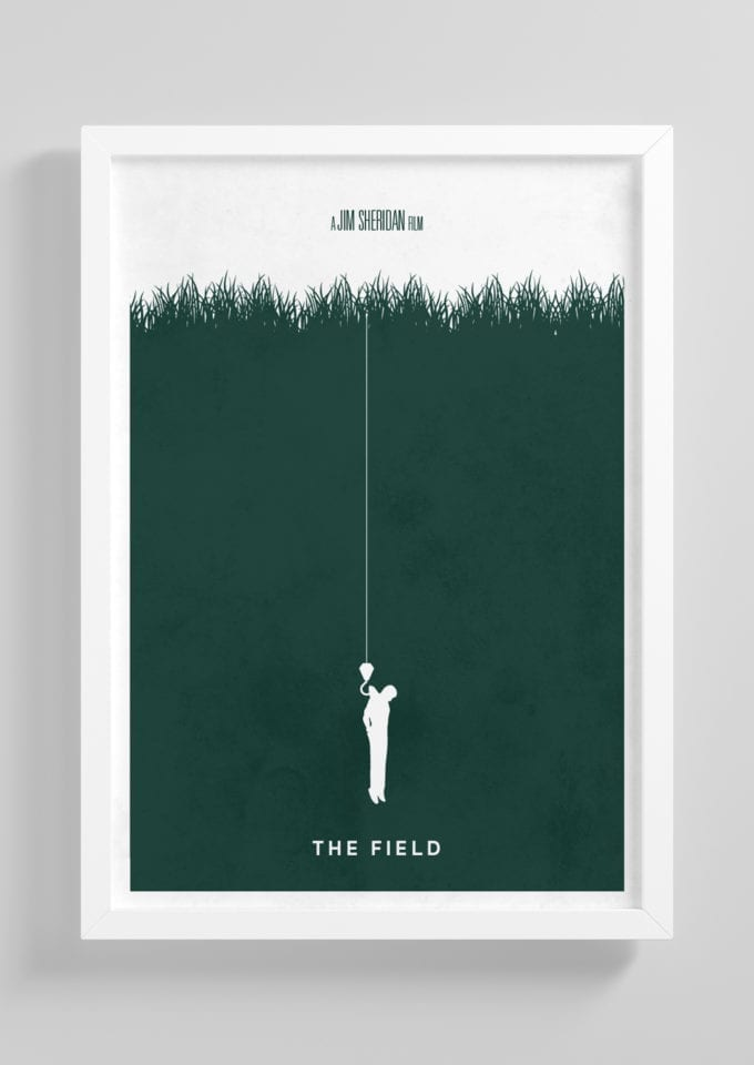 The-Field-Minimalist-Movie-Poster-with-Frame