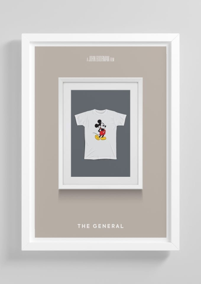 The-General-Minimalist-Movie-Poster-with-Frame