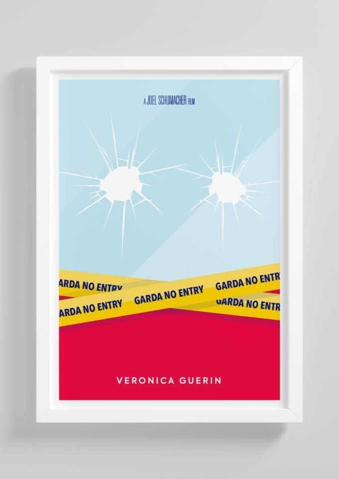 Veronica-Guerin-Minimalist-Movie-Poster-with-Frame