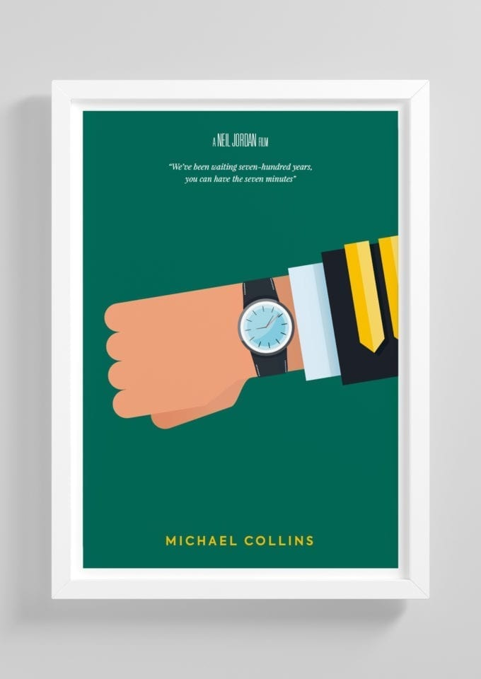 Michael-Collins-Minimalist-Movie-Poster-with-Frame