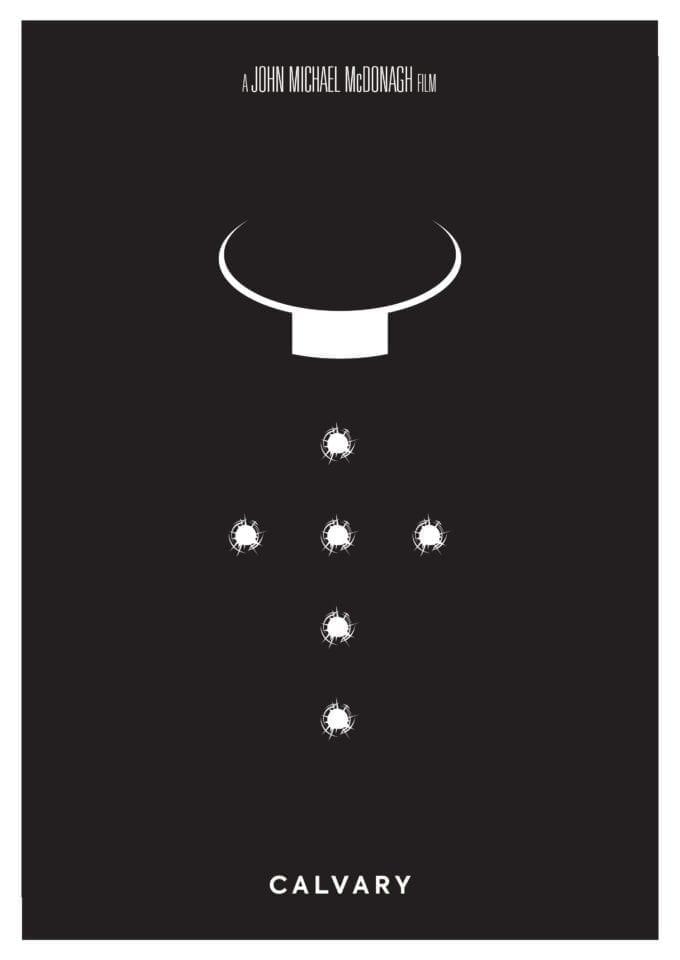 Calvary Minimalist Movie Poster