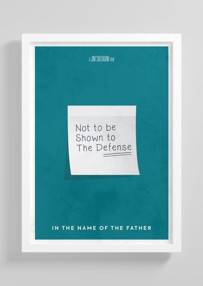 In-the-Name-of-the-Father-Minimalist-Movie-Poster-with-Frame
