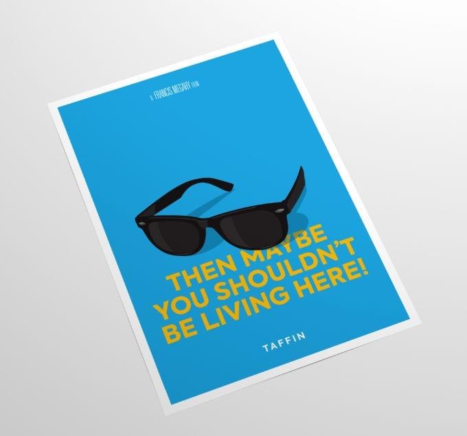 Taffin-Minimalist-Movie-Poster-Side