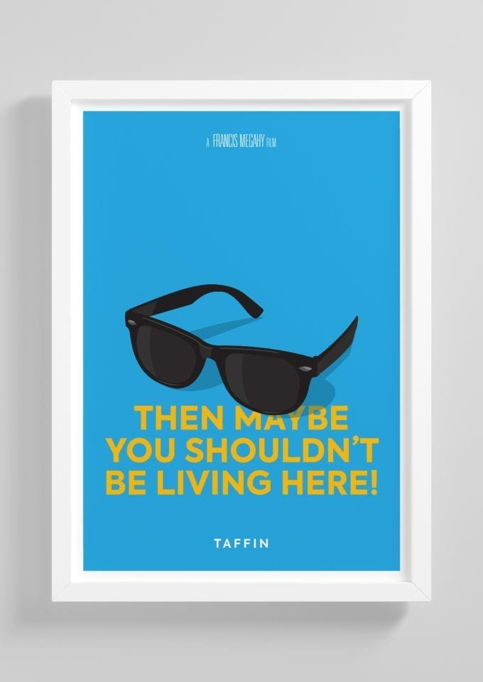 Taffin-Minimalist-Movie-Poster-with-Frame