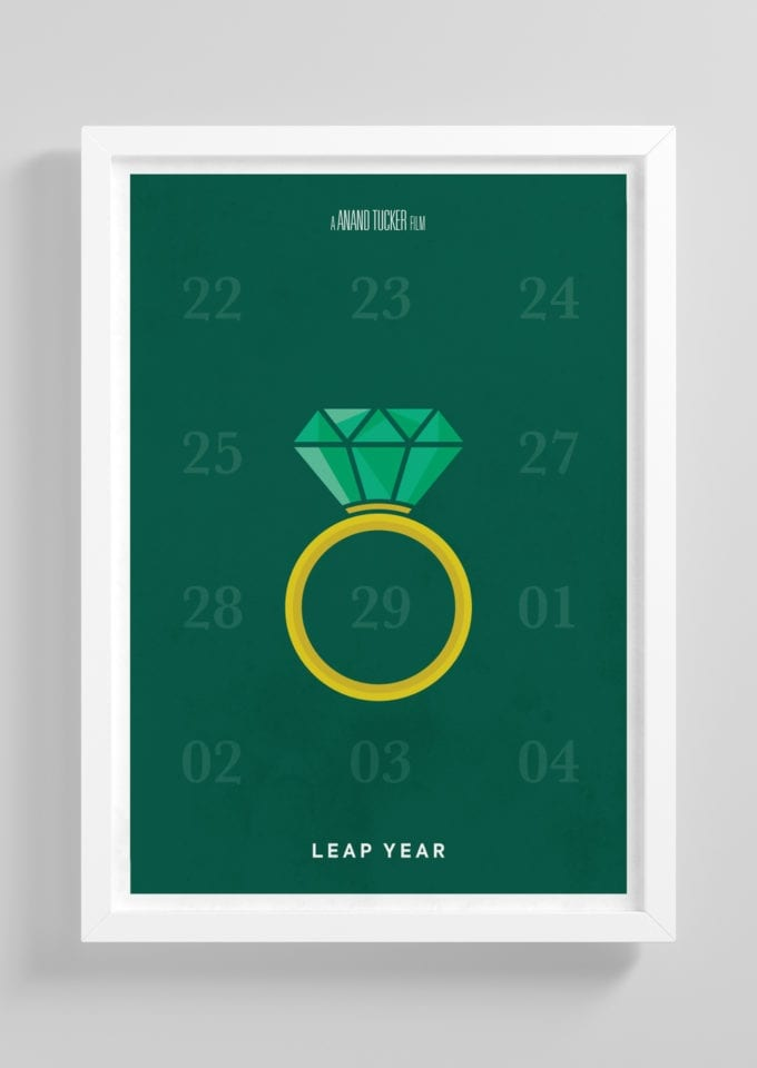 Leap-Year-Minimalist-Movie-Poster-with-Frame