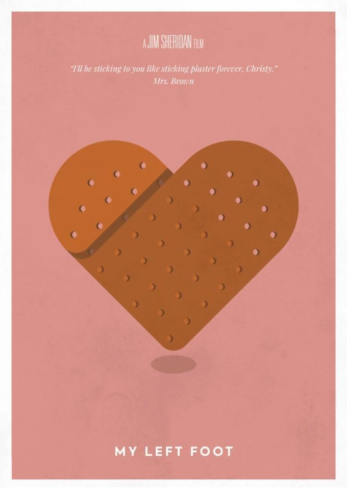 My-Left-Foot-Minimalist-Poster