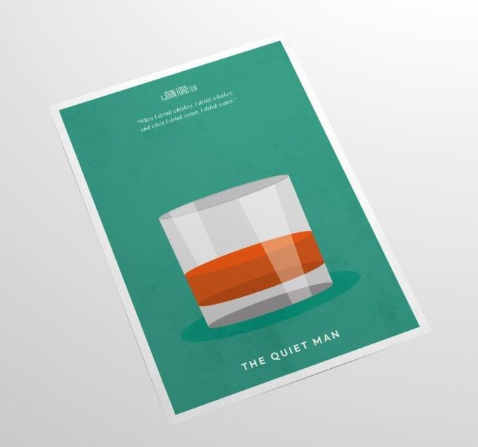 The-Quiet-Man-Minimalist-Poster-Minimalist-Movie-Poster-Side