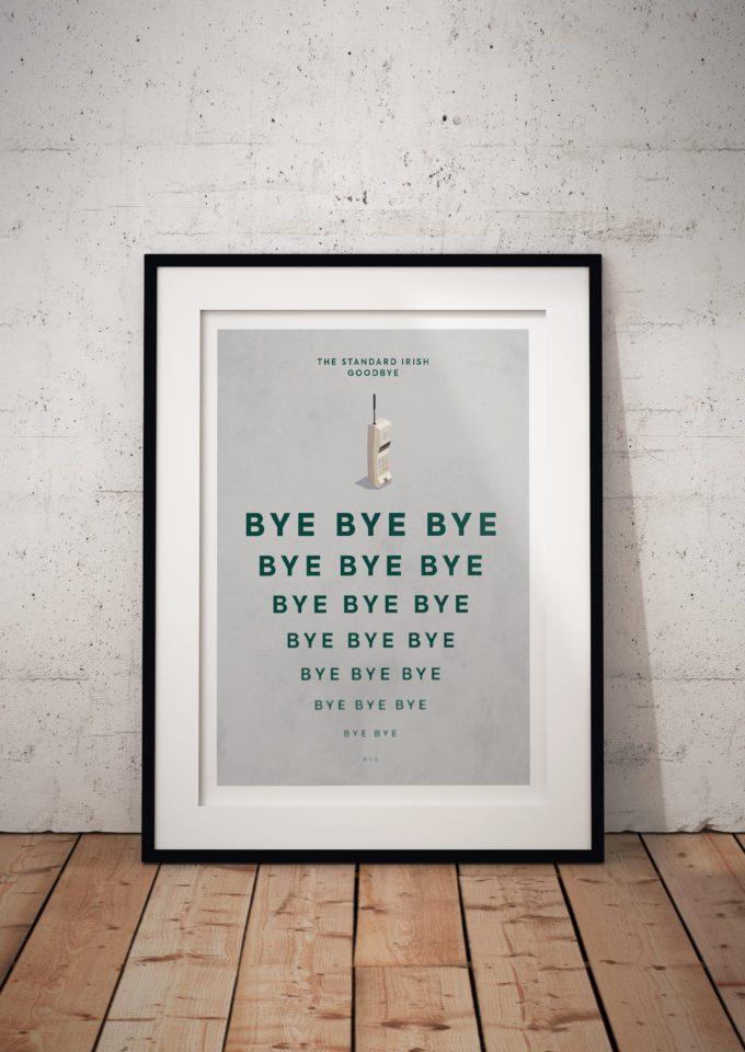 The Standard Irish Goodbye